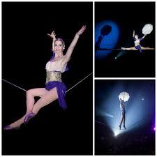 center parcs cirque danseuse fil