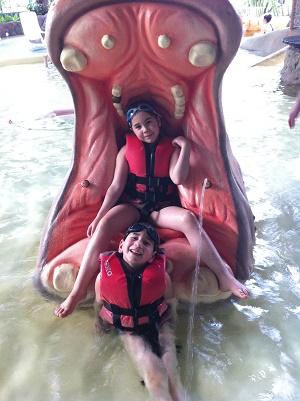 center parcs pataugeoire hippo enfants