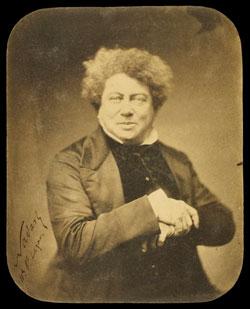 Portrait photographique d'Alexandre Dumas, par Nadar © Paris, BNF