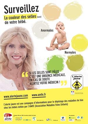 bébé foie maladie selles