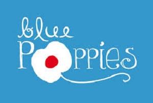 blue poppiesbonne