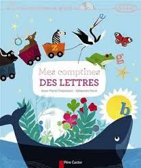 comptine enfant livre lettres