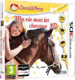 nintendo 3ds cheval fille