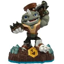 skylanders figurines rubble rouser