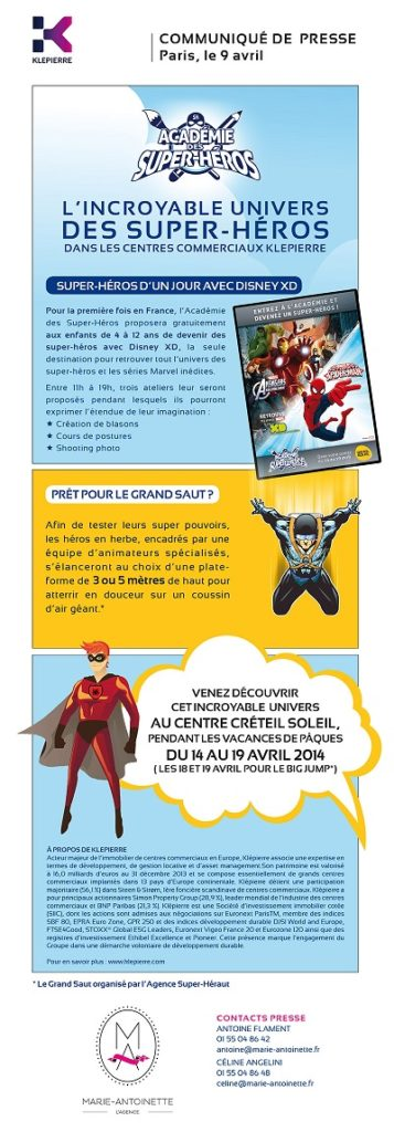 CP ACADEMIE SUPER HEROS CRETEIL jvc