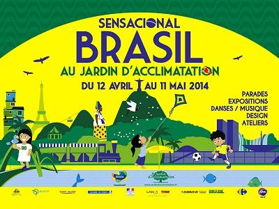 JVC SENSACIONAL BRASIL AU JARDIN D'ACCLIMATATION