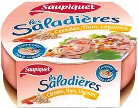 Saupiquet  Pack Saladiere Cereale jevous chouchoute jvc