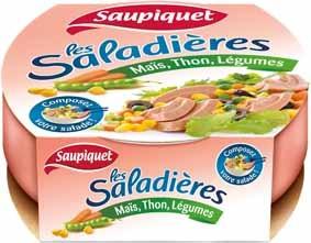 Saupiquet - Saladière jevous chouchoute , jvc