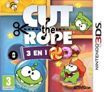 2c7fd6ae9a694b Rejoignez Om-Nom en jouant sur votre Nintendo 3DS, Cut The Rope vous  réserve plus de 650 niveaux pour plus de 50 heures de jeu !