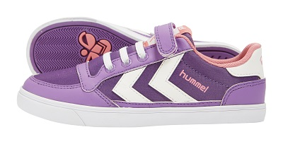 hummel jevouschouchoute jvc SLIMMER-STADIL-JR-POLY-LOW_purple_50euros