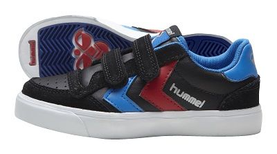 hummel jevouschouchoute jvc STADIL-JR-LEATHER-LOW_blackblue_60euros
