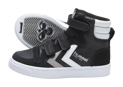 hummel jevouschouchoute jvc STADIL-JR-LEATHER-LOW_blackgrey_70euros