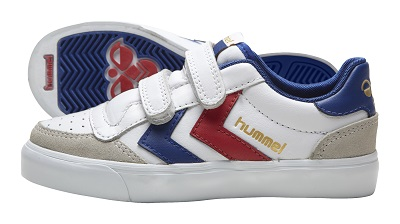 hummel jevouschouchoute jvc STADIL-JR-LEATHER-LOW_white_60euros