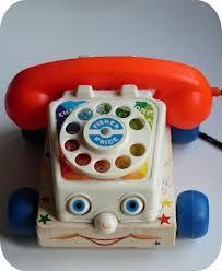 jevouschouchoute jvc fisher price jouet téléphone vintage