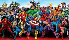 jevouschouchoute jvc super heros marvel