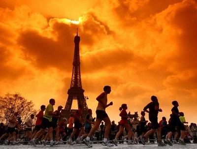 ATHLETICS/MARATHON DE PARIS 2009