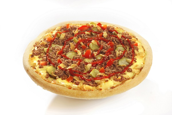 pizza MYTHIC BURGER jvc
