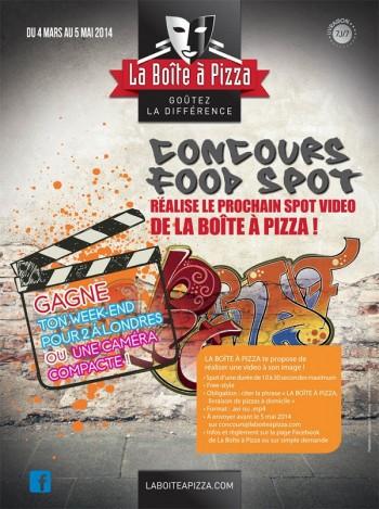 pizza concours jvc
