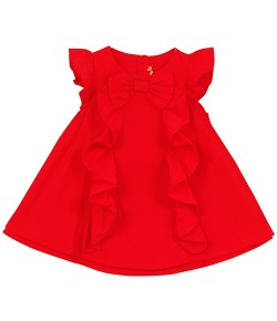 ROBE-ENFANT-UNIE-ROUGE_Berlingot_jvc
