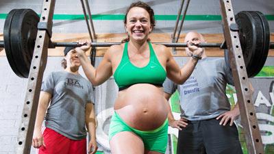 meghan leatherman JVC jevouschouchoute sports femme enceinte