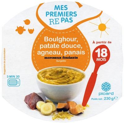 picard_BOULGHOUR PATATE DOUCE AGNEAU PANAIS_jevouschouchoute_jvc