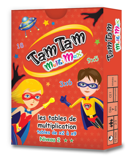 Tam Tam Multiplication Niveau 2