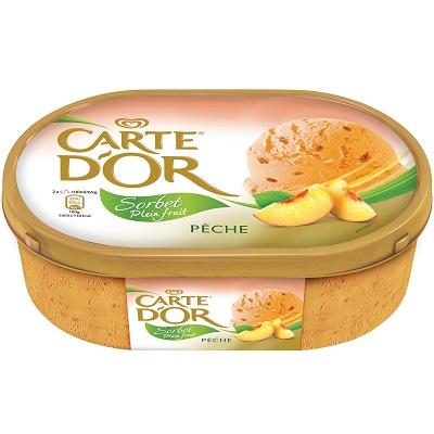 Carte d'Or_Sorbet Plein fruit_Pêche_jevouschouchoute_jvc