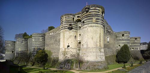Château d'Angers, enceinte, porte des Champs