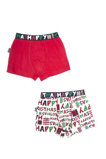Petit Béguin HAPPY CHRISTMAS Lot de 2 Boxers 7,99€-jvc-jevouschouchoute