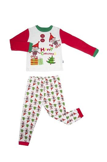 Petit Béguin HAPPY CHRISTMAS Pyjama garçon 17,99€-jvc-jevouschouchoute
