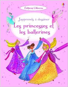Usborne-apprends à dessiner les princesse et les ballerines-jevouschouchoute-jvc