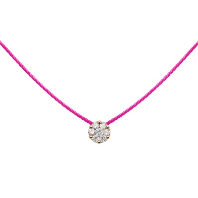 cadeau-collier-diamant-sur-fil-rose-fluo-or-rose-redline