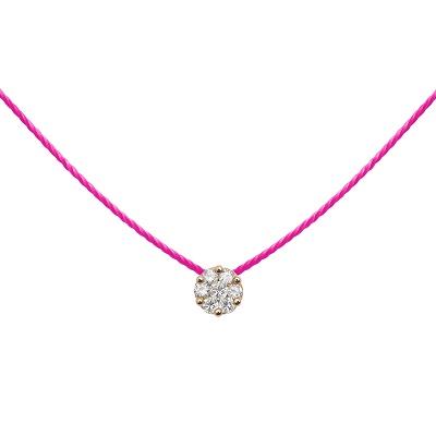 cadeau-collier-diamant-sur-fil-rose-fluo-or-rose-redline