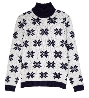 jevouschouchoute-Asos_Christmas_Roll_Neck_with_Snowflake_design
