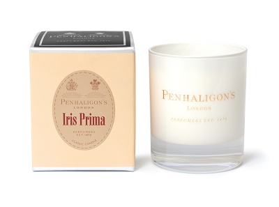 Iris Prima Candle carton and candle_jevouschouchoute