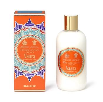 Vaara Shower Cream carton and bottle_jevouschouchoute