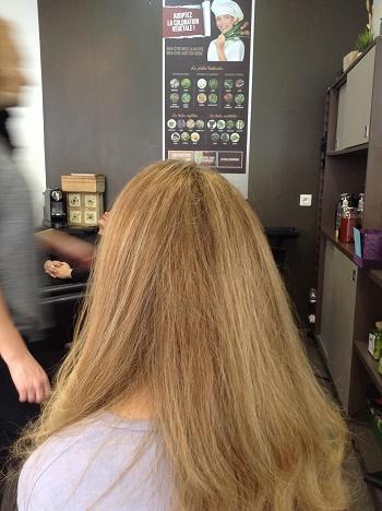 moi en sortant je me suis dis que jtais dj contente de revenir refaire du bien mes cheveux - Coloration Cheveux Marcapar