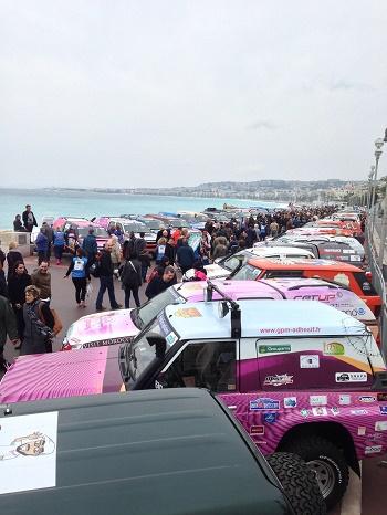 Rallye Aïcha des Gazelles_jvc_jevouschouchoute_en route pour le départ
