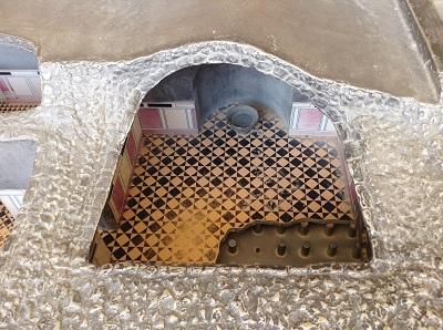 maquette du hammam vue de haut