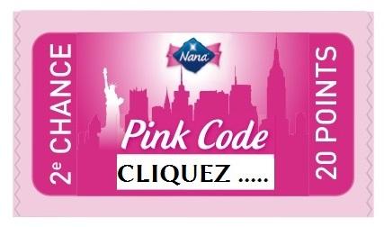 Logo NANA pink ticket  JVC