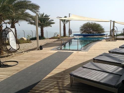 bassin extérieur du Spa d'Ein Gedi