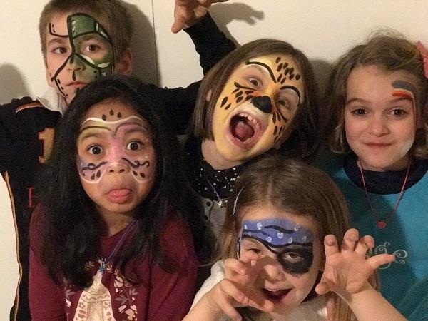 tizombi halloween maquillage