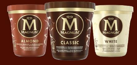 Magnum en pot c 39 est craquage assur - Magnum chocolat blanc ...