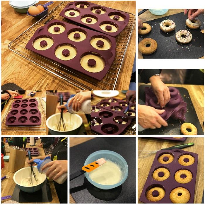 Les Bagels  20g de levure fraîche du boulanger à mélanger avec 200ml d\u0027eau  à 30°C et 2ml de sucre en poudre. 1 pomme de terre cuite dans15ml d\u0027eau  (picjet