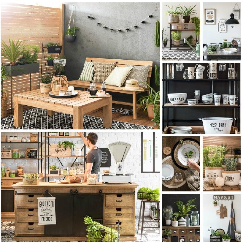 les nouvelles ambiances de printemps chiner chez maisons du monde. Black Bedroom Furniture Sets. Home Design Ideas