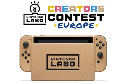 avez vous particip au concours nintendo labo d 39 europe. Black Bedroom Furniture Sets. Home Design Ideas