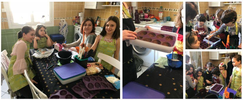 J 39 ai organis un atelier culinaire tupperware avec des enfants - Atelier cuisine tupperware ...