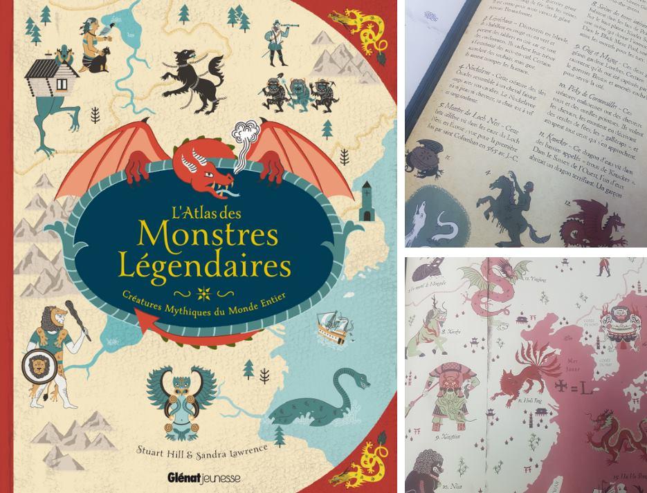 atlas des monstres legendaires