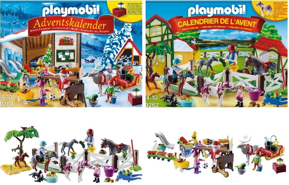 Calendrier L Avent Playmobil.Nos Calendriers De L Avent 2018 C Est D Abord Pour Les Enfants