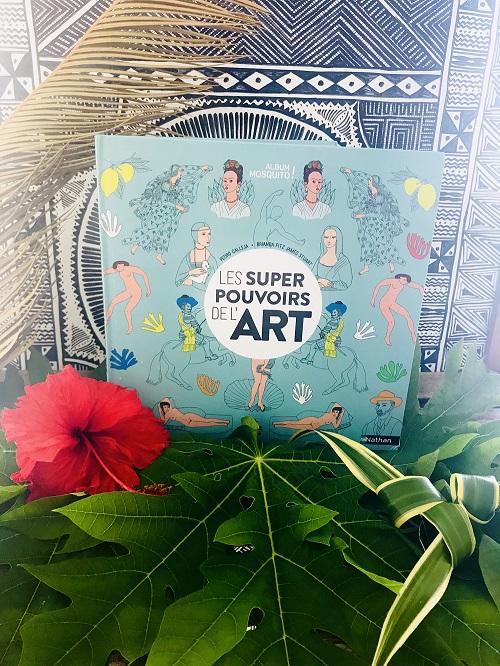 les supers pouvoir de l'art